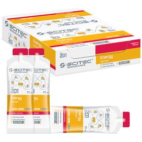 SCITEC Energy Gel Box 12x55ml, Raspberry